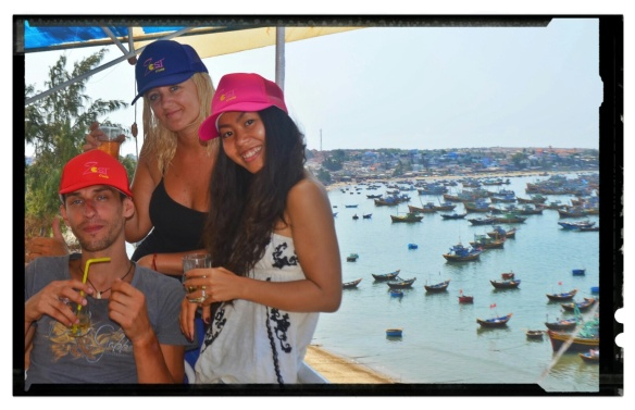 one Russian, one Vietnamese and one South African ;-)